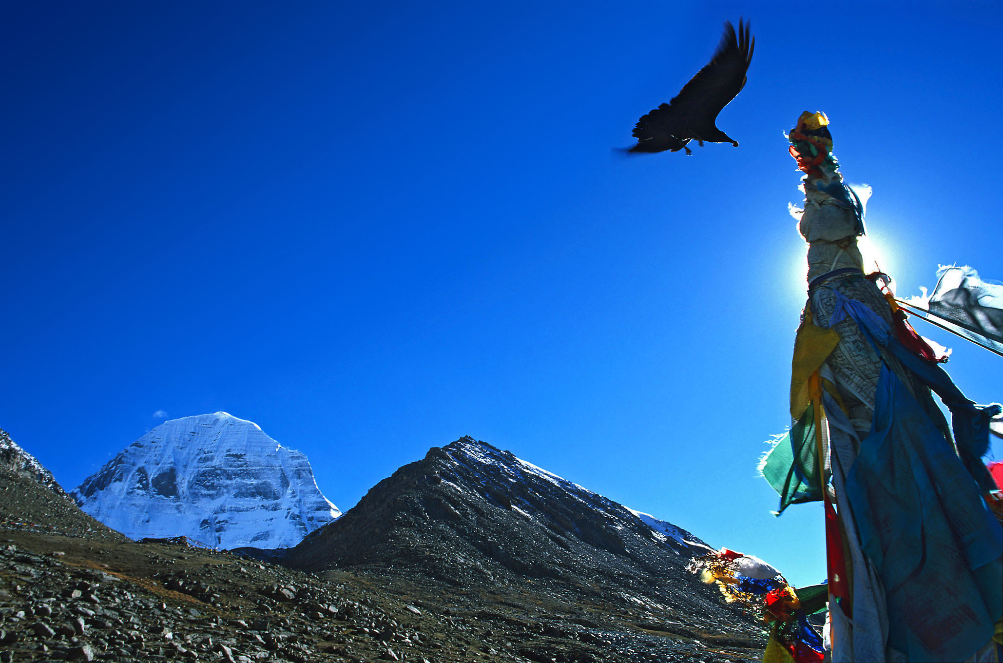 Socrates Geens, Mount Kailash north face, Tibet