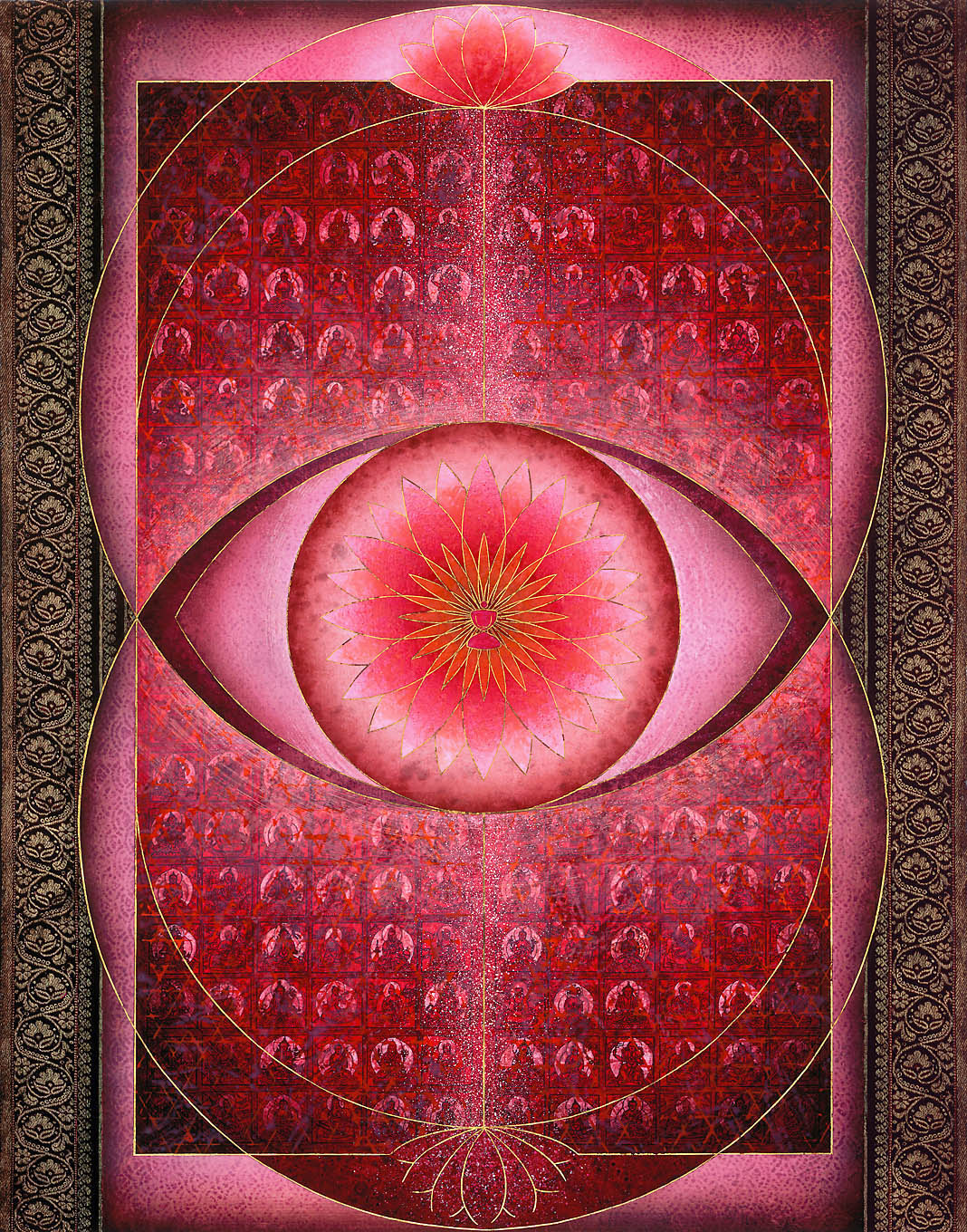 Socrates Geens, Sacred gate with the seal of inner vision